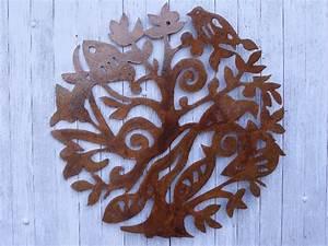 Arbre De Vie Decoration Murale : d coration murale arbre de vie jardin d cor ~ Teatrodelosmanantiales.com Idées de Décoration