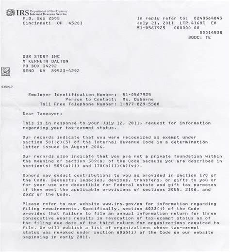 letter of determination irs letter of determination irs determination letter best 10658