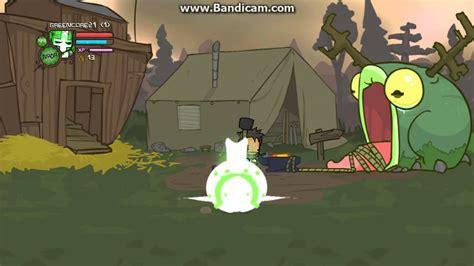 castle crashers green knight magic youtube