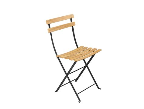 chaise pliante en bois fermob bistro folding garden chair and colour