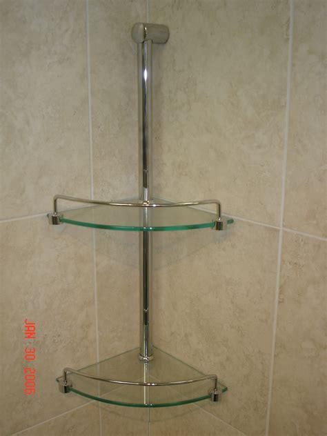 Badezimmer Fliesen Regal by Shower Corner Shelves Ideas Tile Shower Shelves Glass