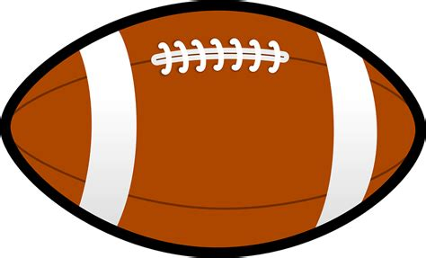 american football lace vector football brown pigskin 183 free vector graphic on pixabay