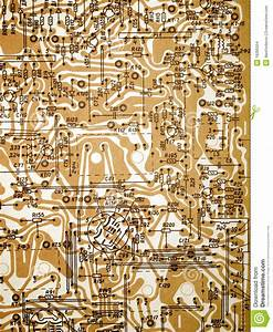 Circuit Board Diagram  Stock Photo  Image Of Backdrop