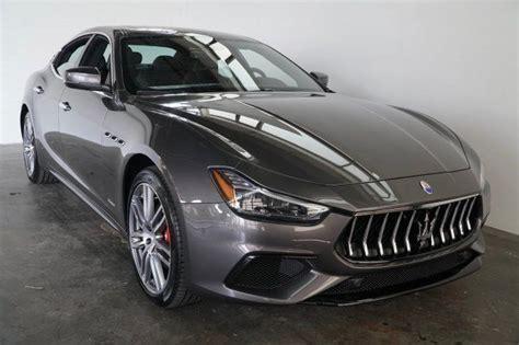 2018 Maserati Ghibli Gransport Greensboro Nc 22019120