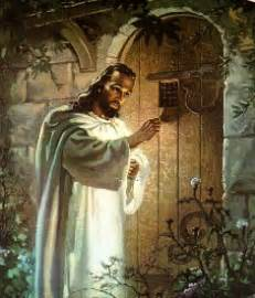 jesus knocking at the door painting thanksgiving abdicate s