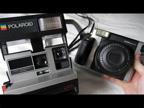 polaroid wide fujifilm instax wide 300 and polaroid comparison