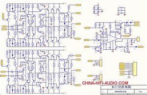 China Power Amplifier Schematic Diagram