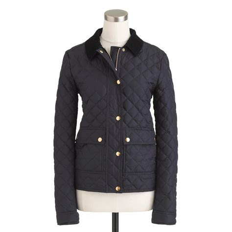 j crew quilted jacket quilted tack jacket j crew