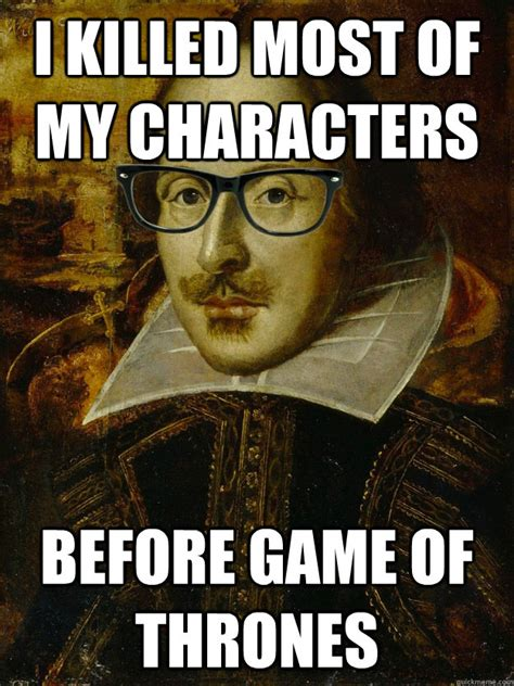 Macbeth Memes - fancy free i hyphenated that shit first hipster shakespeare quickmeme