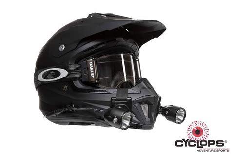 bike helmet light cyclops racer led helmetlight kit