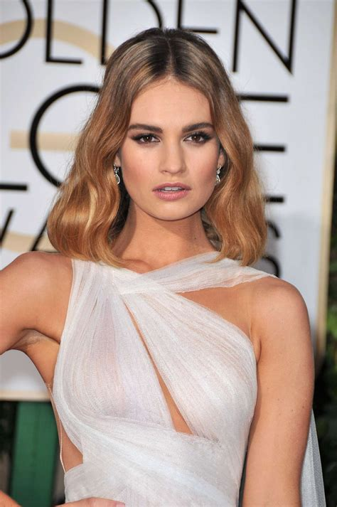 Pin on Lily James