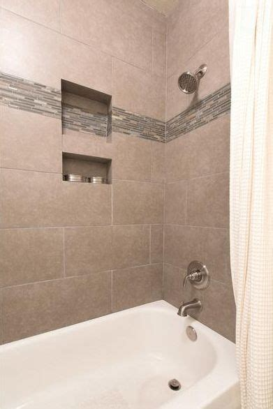 tile  bathtub shower surround bathroom guest