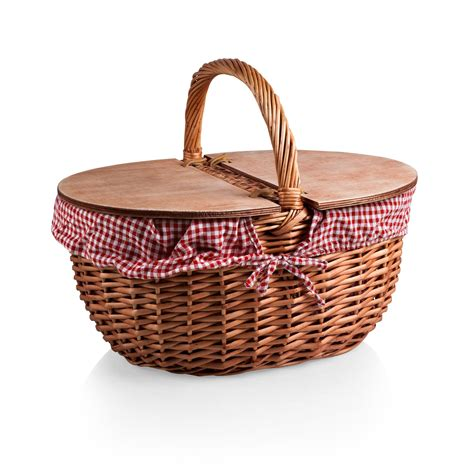 Kitchen Upgrade Ideas - picnic time country picnic basket reviews wayfair