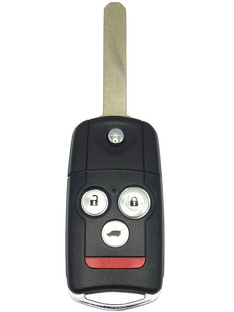 keyless entry  flip key  button   acura mdx