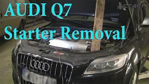 Audi Q7 Starter Removal