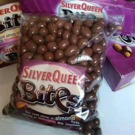 coklat silverqueen bites sq bites almond mede shopee