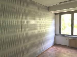 Auf Latexfarbe Tapezieren : heimwerker renovieren tapeten selber tapezieren ~ Frokenaadalensverden.com Haus und Dekorationen