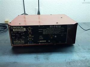 Lincoln Electric Ac Dc Stick  Tig Welder Conversion