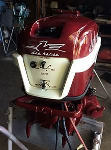1956, 30, Hp, Johnson, Javelin, Restored, Outboard, Boat, Motor