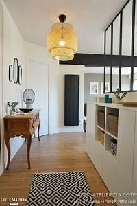 un espace de vie chic et chaleureux adc l39atelier d39a With exceptional idee deco bureau maison 3 deco chambre chaleureuse