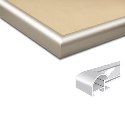 cadre en aluminium sur mesure nielsen cadre en aluminium coupe sur mesure profil 75