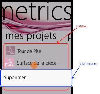 Control Template Context Menu by Contextmenu Dans Une Listbox Avec Datatemplate Toss Net
