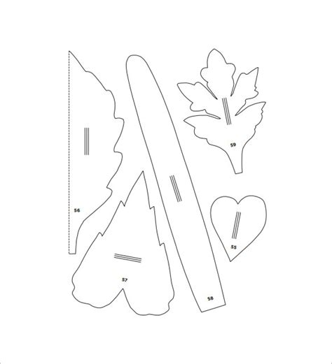 paper flower template pdf 20 flower petal templates pdf vector eps free premium templates