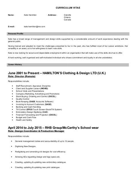 Hamilton Resumealexander Hamilton Resume by Resume Help In Hamilton Ontario