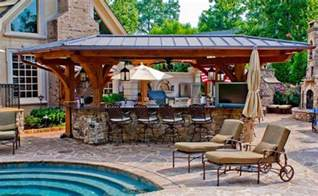 kitchen outdoor ideas 15 outdoor kitchen designs for a great cooking aura home design lover