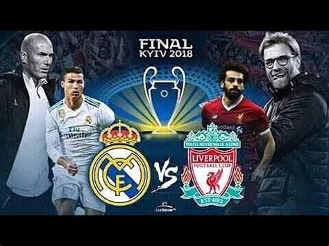 Live Streaming Final Liga Champions: Real Madrid vs ...