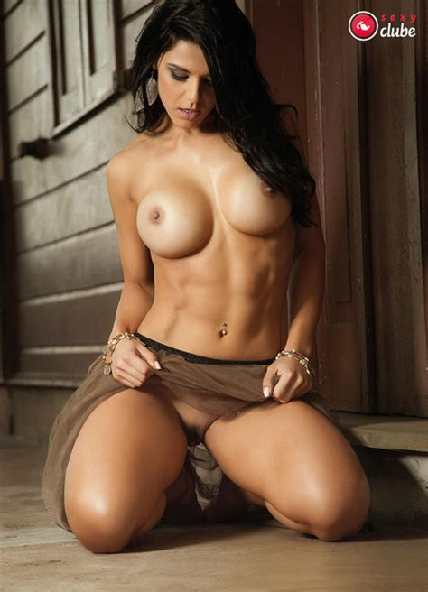 Naked Eva Andressa in Playboy Brasil