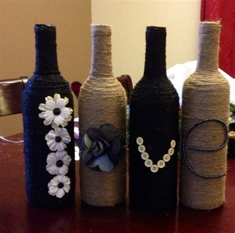 Decorative Wine Bottles Ideas by 1000 Images About Decorated Bottles On Wine