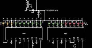 Simple Led Vu Meter Circuit