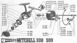 Nos  New Old Stock  Mitchell 308 Main Drive Gear And