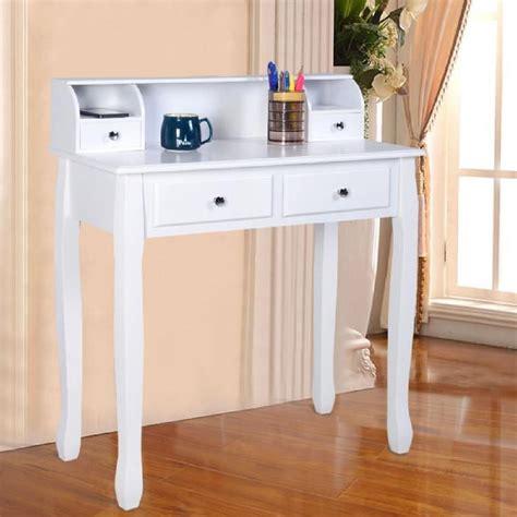 bureau coiffeuse coiffeuse table de maquillage table de bureau blanche avec