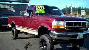 1996 Ford F150 4x4 Sold
