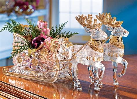Crystal Reindeer & Sleigh Holiday Centerpiece Laminate Flooring Complaints With Installation Cost Rising Up How To Measure Floor Install Over Concrete Slab Floors Mannington Reviews Lamett