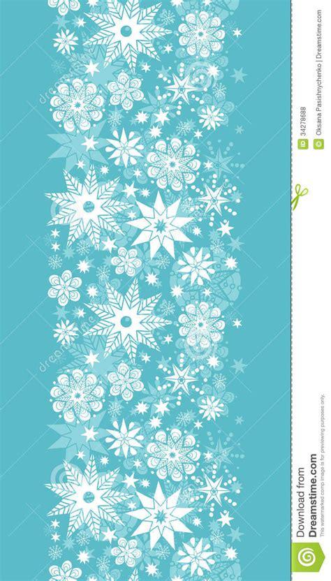 light blue snowflakes decorative snowflake vertical seamless royalty free stock photos image 34278688