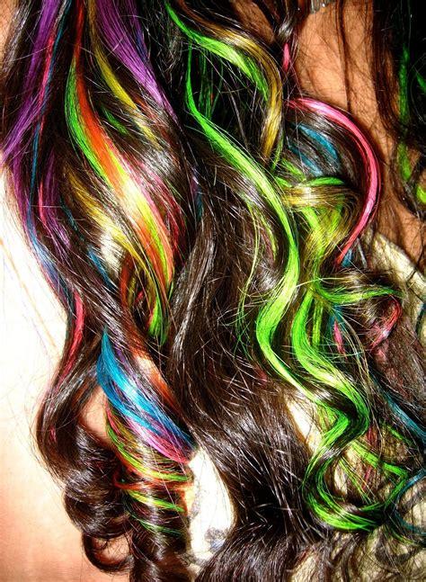 25 Impulsive Rainbow Hair Color Ideas Hairstyle For Women