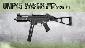 Ump45   Mw3 Weapon Guide  Gameplay  U0026 Gun Review