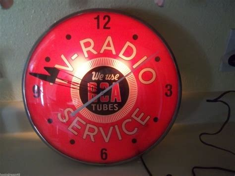 Vintage Advertising Clocks