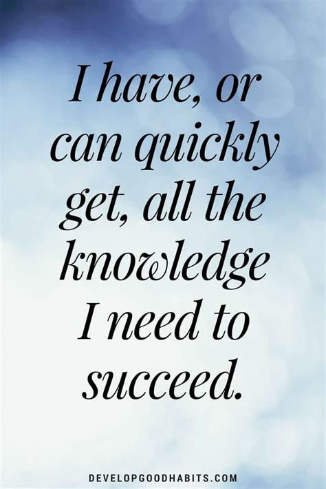 affirmations   esteem  build confidence