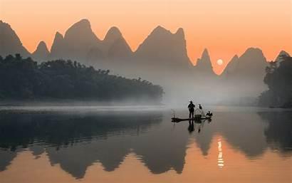 Li River China Landscape Desktop Wonderful Mobile