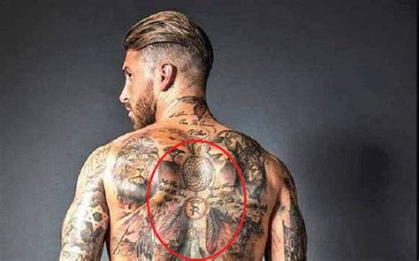 sergio ramos  tattoos  meanings body art guru