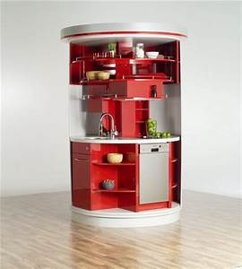 10 compact kitchen designs for very small spaces digsdigs With kitchen design ideas for small spaces