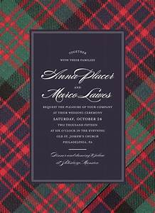best 25 tartan wedding ideas on pinterest scottish With red tartan wedding invitations