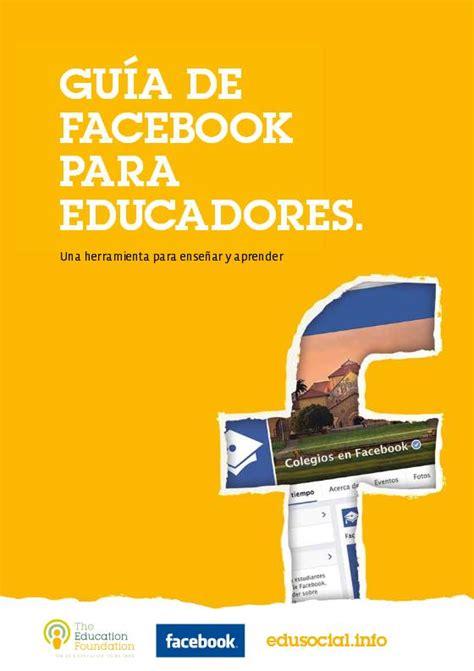 Facebook  Una Guía Para Enseñar Y Aprender  Ebook Blog