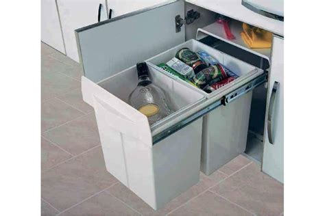 accessoires meubles cuisine poubelle tri selectif maxus accessoires de cuisines