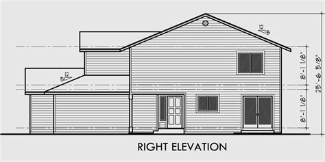Side View Of House Plans