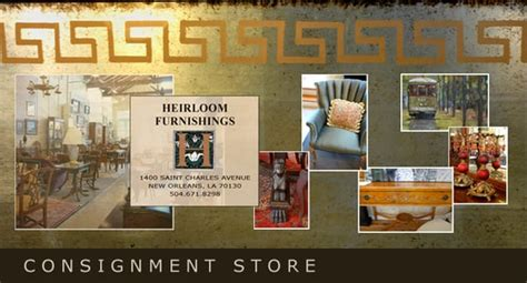 heirloom furnishings consignment store antiques